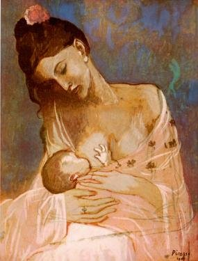 maternity, picasso